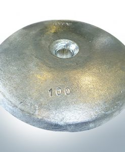 Disk-Anodes Ø 100mm | hole (Zinc)