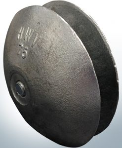 Disk-Anodes Ø 75mm | Bundle (Zinc)