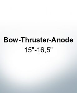 "Anodes compatible to Gori | Bow-Thruster-Anode 15""-16,5"" (Zinc)"
