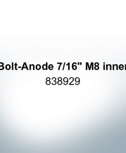 "Anodes compatible to Volvo Penta | Bolt-Anode 7/16"" M8 inner 838929 (Zinc)"