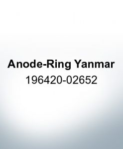 Anodes compatible to Yamaha and Yanmar | Anode-Ring Yanmar 196420-02652 (Zinc)