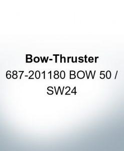 Bow-Thruster 687-201180 BOW 50 / SW24 (Zinc)