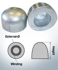 Nut-Caps M36x1,5 Ø60/H40 (Zinc)