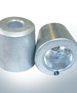 Shaftend-Anodes with carrier punch 20 mm (Zinc)
