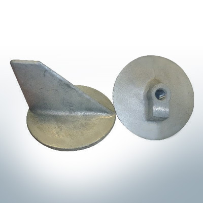 """Anodes compatible to Mercury   Trim-Tab-Anode short 31640 7/16"""" (AlZn5In)   9706AL"""