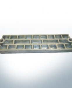 Anodes compatible to Mercury | Grid-Anode 43396 (AlZn5In) | 9711AL