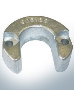 Anodes compatible to Mercury | Cylinder-Anode small 806189 (AlZn5In) | 9713AL
