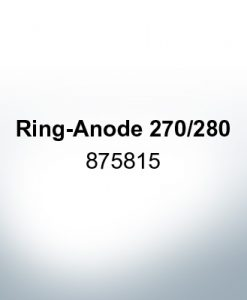 Anodes compatible to Volvo Penta   Ring-Anode 270/280 875815 (Zinc)   9205