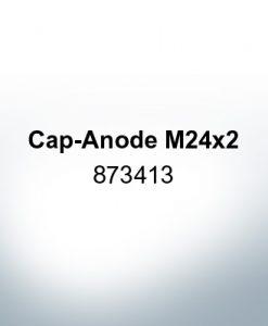 Anodes compatible to Volvo Penta   Cap-Anode M24x2 873413 (Zinc)   9219