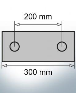 Block- and Ribbon-Anodes Block L300/200 (AlZn5In) | 9323AL