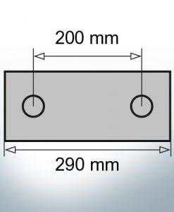 Block- and Ribbon-Anodes Block L290/200 (AlZn5In) | 9324AL