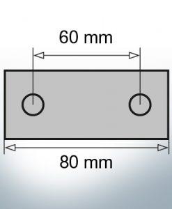Block- and Ribbon-Anodes Block L80/60 (AlZn5In) | 9339AL