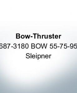 Bow-Thruster 687-3180 BOW 55-75-95 Sleipner (AlZn5In)   9616AL
