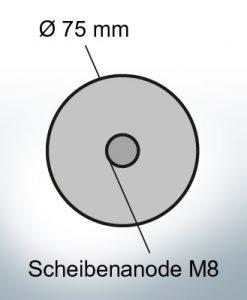 Disk-Anodes Ø 75mm   Bundle (AlZn5In)   9805AL 9806AL