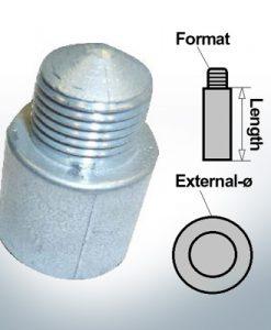 Bolt-Anodes M10 Ø22/L250 (AlZn5In) | 9111AL