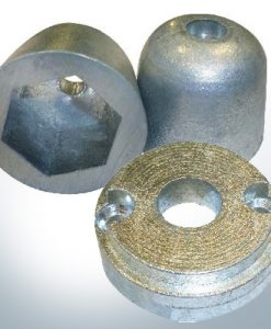 Bow-Thruster- and Propeller-Anodes Zinc