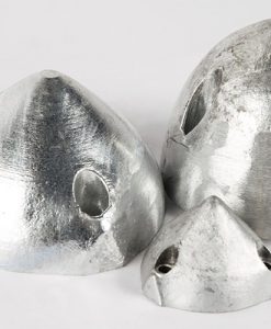 Nut-Caps, One-, Two- and Three-Hole-Caps Zinc