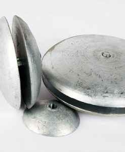 Disk-, Cylinder- and Trim-Tab-Anodes Zinc