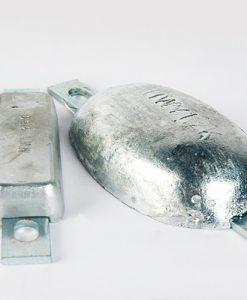 Block- and Ribbon-Anodes Zinc