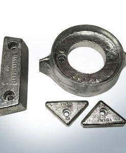Sets of anodes | Volvo 290 (AlZn5In) | 9204AL 9205AL 9228AL