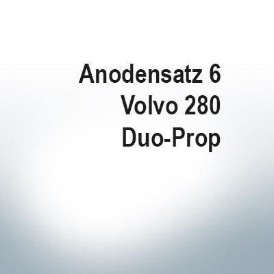 Sets of anodes   Volvo 280 Duo-Prop (Zinc)   9203 9207
