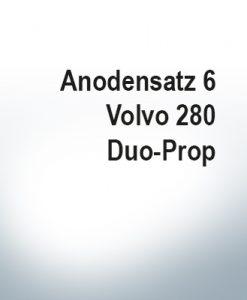 Sets of anodes   Volvo 280 Duo-Prop (AlZn5In)   9203AL 9207AL