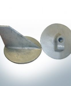 Anodes compatible to Mercury | Trim-Tab-Anode 821692 (AlZn5In) | 9704AL