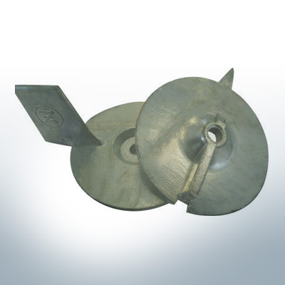 Anodes compatible to Mercury | Trim-Tab-Anode 18/25 94286 (Zinc) | 9708