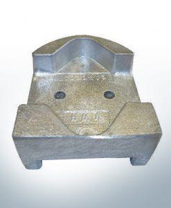 Anodes compatible to Mercury | Block-Anode 821631 (Zinc) | 9712