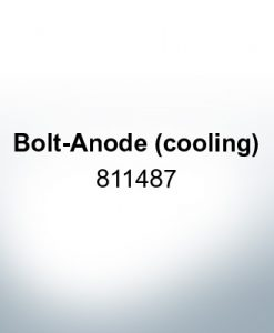 Anodes compatible to Mercury   Bolt-Anode (cooling) 811487 (AlZn5In)   9714AL