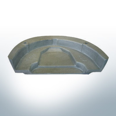 Anodes compatible to Mercury | Anode-Plate Cobra 984513 (Zinc) | 9527