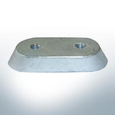 Anodes compatible to Honda | Anode-Block 2-15 PS/41106-ZV4 (Zinc) | 9546