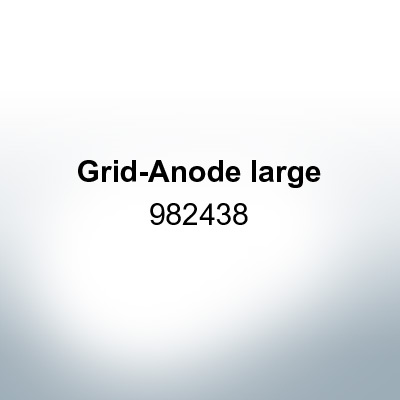 Anodes compatible to Mercury | Grid-Anode large 982438 (Zinc) | 9525