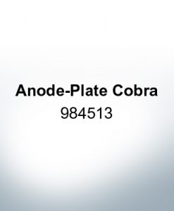 Anodes compatible to Mercury | Anode-Plate Cobra 984513 (AlZn5In) | 9527AL