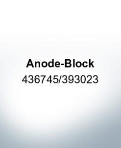 Anodes compatible to Mercury   Anode-Block 436745/393023 (Zinc)   9528