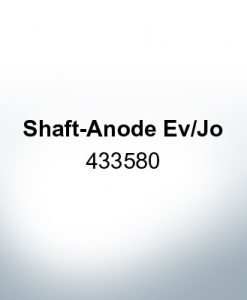 Anodes compatible to OMC| Shaft-Anode Ev/Jo 433580 (AlZn5In) | 9533AL