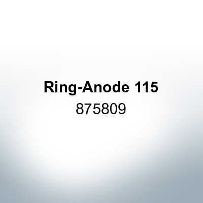 Anodes compatible to Volvo Penta | Ring-Anode 115 875809 (AlZn5In) | 9211AL