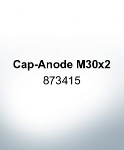 Anodes compatible to Volvo Penta   Cap-Anode M30x2 873415 (AlZn5In)   9218AL