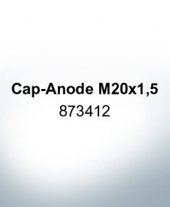 Anodes compatible to Volvo Penta   Cap-Anode M20x1,5 873412 (AlZn5In)   9220AL