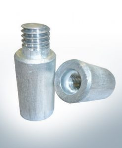 "Anodes compatible to Volvo Penta | Bolt-Anode 7/16"" M8 inner 838929 (AlZn5In) 