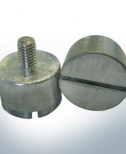 Anodes compatible to Volvo Penta | Bolt-Anode 14 x 22 M6 852019 (AlZn5In) | 9240AL