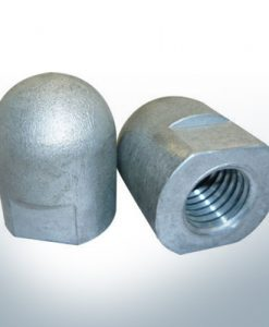 Anodes compatible to Volvo Penta | Cap-Anode M20x1,5 short (Zinc) | 9243
