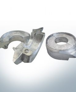 Anodes compatible to Volvo Penta | Ring-Anode 130/150 2-part 358407 | 3586963 | 3888305 | (Zinc) | 9244
