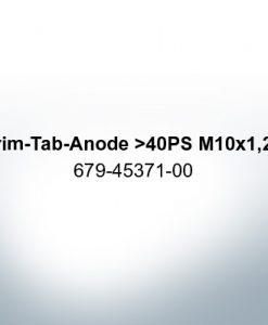 Anodes compatible to Yamaha and Yanmar   Trim-Tab-Anode >40PS M10x1,25 679-45371-00 (Zinc)   9537
