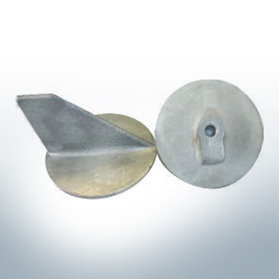 Anodes compatible to Volvo Penta | Trim-Tab-Anodes (VPU) 3555668 (AlZn5In) | 9213AL