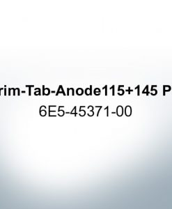 Anodes compatible to Yamaha and Yanmar   Trim-Tab-Anode 115 145 PS 6E5-45371-00 (AlZn5In)   9539AL