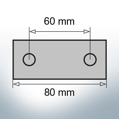 Block- and Ribbon-Anodes Block L80/60 (Zinc) | 9339