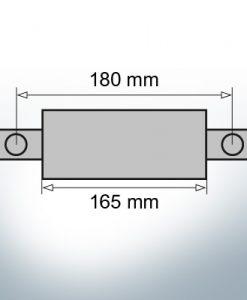 Block- and Ribbon-Anodes Flat-Anode L165/180 (Zinc)   9341