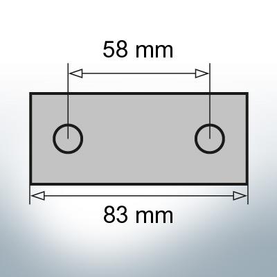 Block- and Ribbon-Anodes Block L83/58 (AlZn5In) | 9346AL