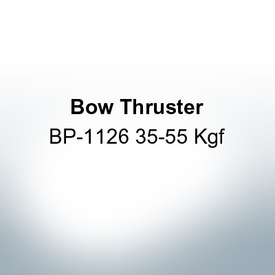 Bow Thruster BP-1126 35-55 Kgf (Zinc) | 9621